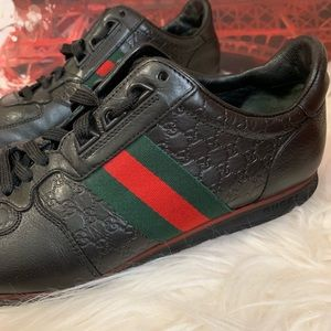 Gucci Shoes - Authentic Gucci Unisex Guccissima Sneakers